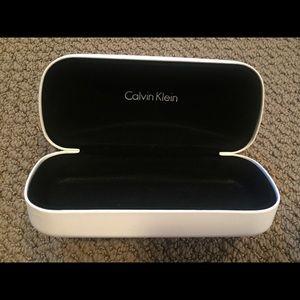 Calvin Klein eye glass case